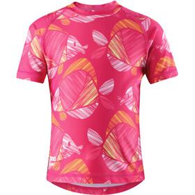 Reima Ionian Camiseta de natación Niñas, candy pink